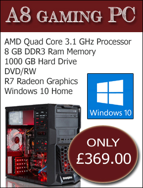 gaming A8 pc